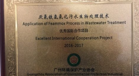 "Feammox Work Receives ""Excellent International Cooperation Project"" AWARD"